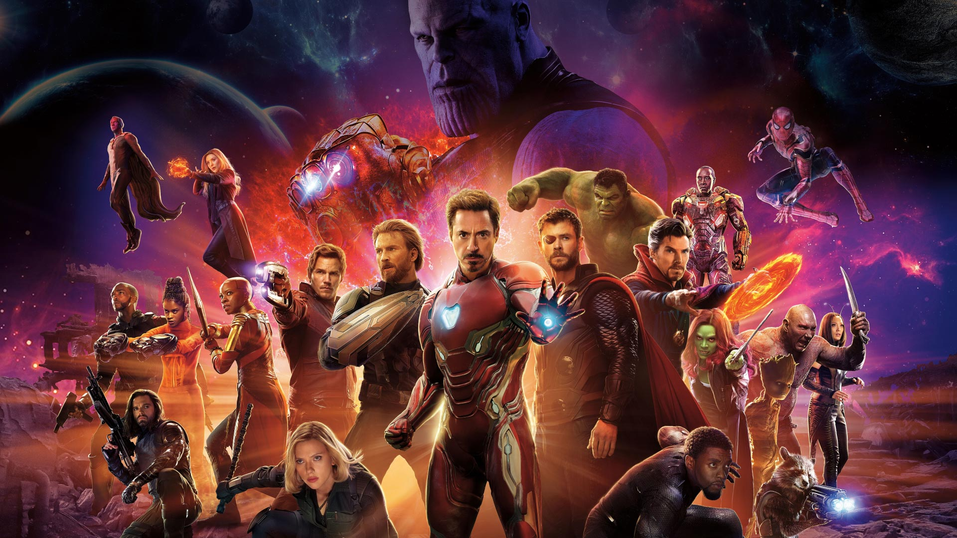 Avengers: Infinity War 2018 Full Movie Online